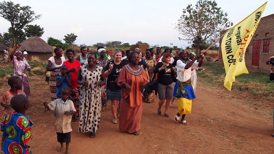 Vapaaehtoistyö Ugandassa