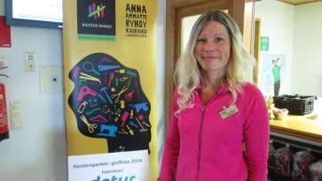 Andrea Blomstedt Naisten Pankin golfkisa