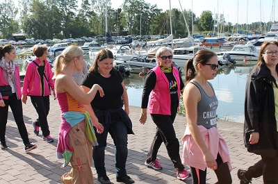 KNA 2014 venesatamassa Espoo 400