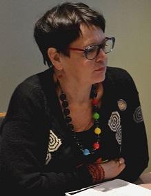 Leila kuukausilounaalla 2015 Anneli Airola