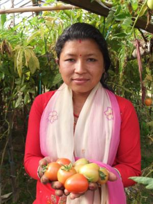 Lakshmi Shrestha, Nepal