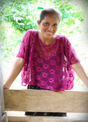 """""""Minä todella pidän siitä, että saan kouluttautua ja käyttää aivojani"""", iloitsee María Isabel Cac Cu."""