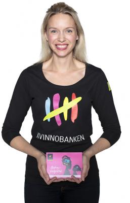 """""""Naisten Pankki houkutteli minut mukaan vapaaehtoistyöhön innovatiivisella ja vaikuttavalla toimintamallillaan"""", kertoo Laura Pääkkönen."""