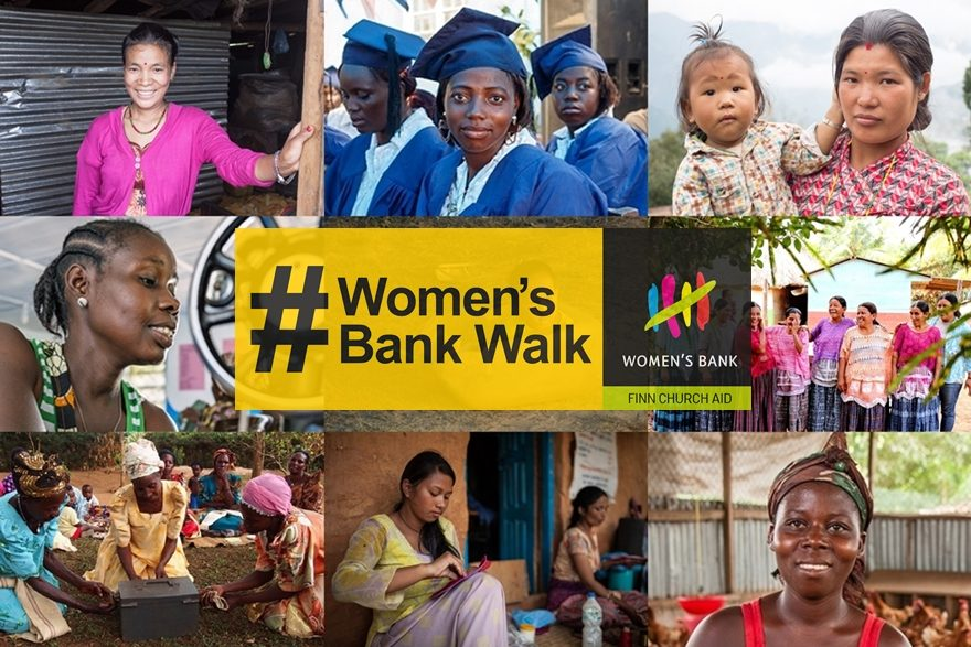 Women's Bank Walk organised for the 8th time in September 2017