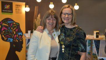 Reetta Meriläinen ja Anni Vepsäläinen