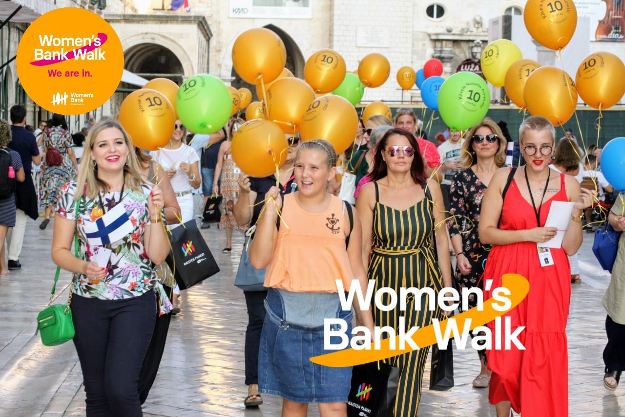 Kävele Naiselle Ammatti