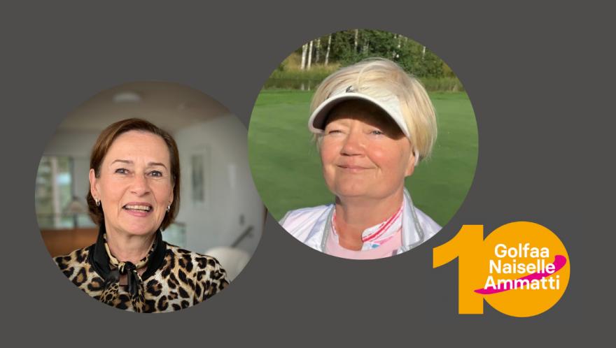 Golfaa Naiselle Ammatti sai uudet vetäjät juhlavuoden kynnyksellä