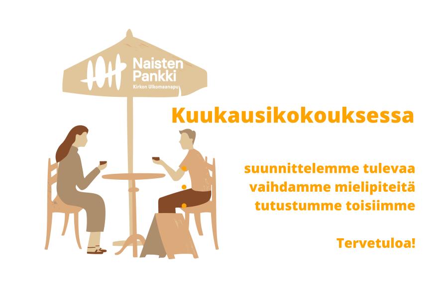 Naisten Pankki Helsingin kuukausikokous