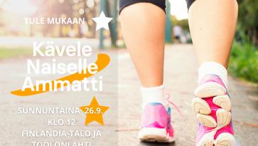 Kävele Naiselle Ammatti 26.09.2021
